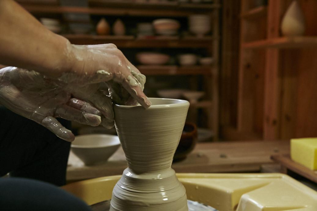ろくろを挽く陶芸家でいたい。